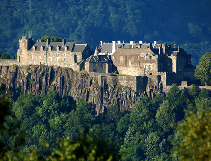 Stirling Castle is one of Scotland's grandest castles due to its imposing position and impressive architecture.